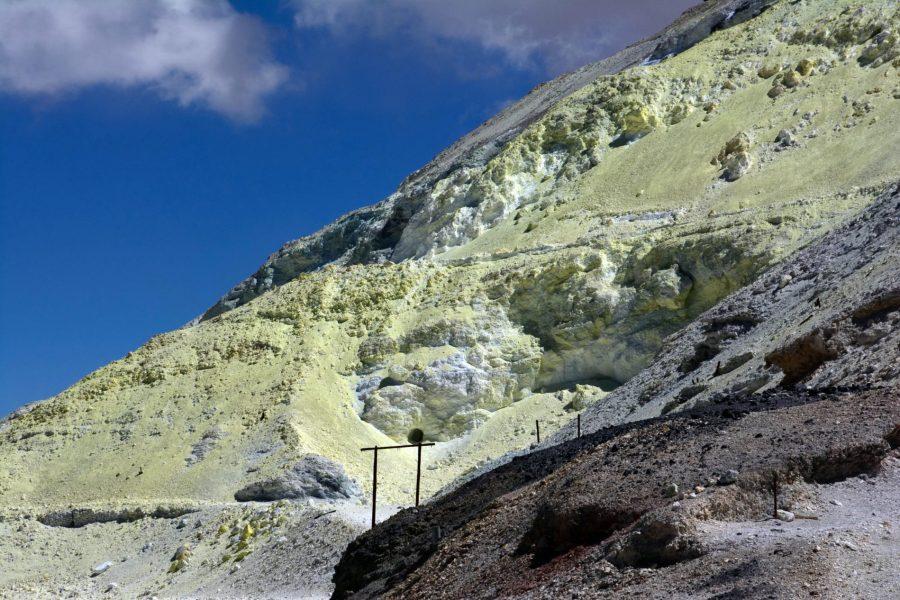 Soufre, Mina Julia, 5240m, Province de Salta, Argentine
