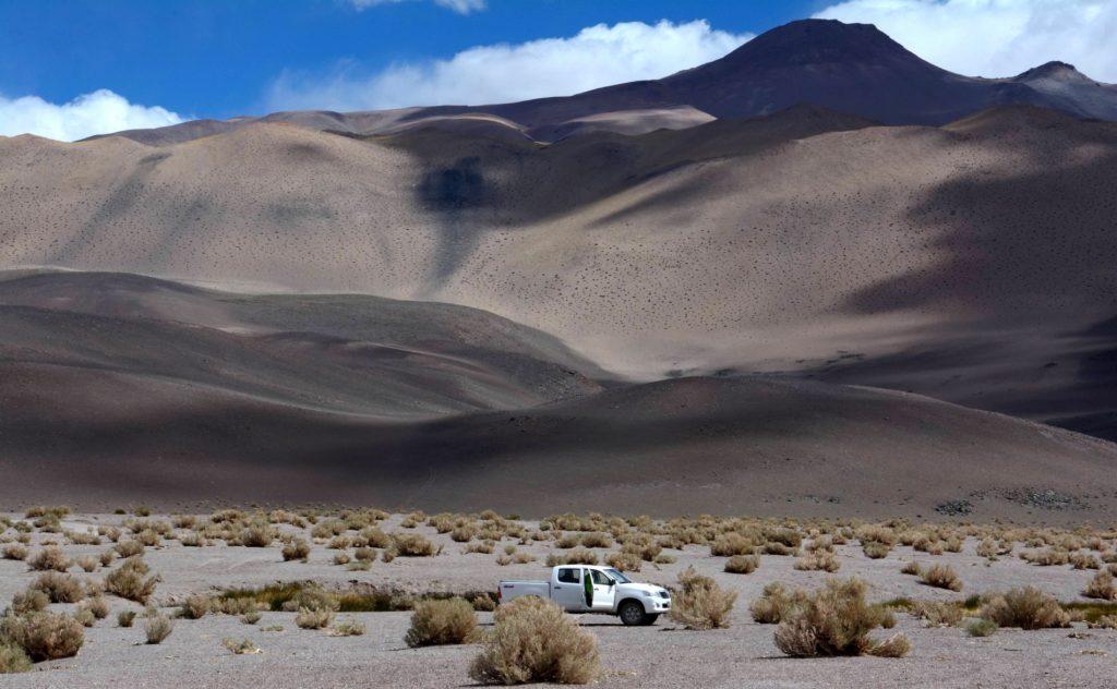 Ojos del Campo, Salar d'Antofalla, Province de Catamarca,Argentine