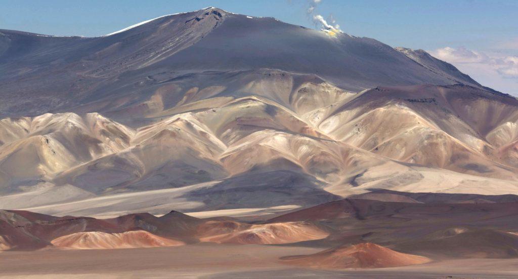 Volcan Azufre, 5700m, Province de Catamarca, Argentine