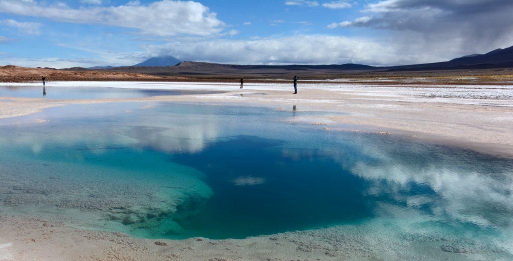 Ojos del Mar, Tolar grande,Province de Salta, Argentine