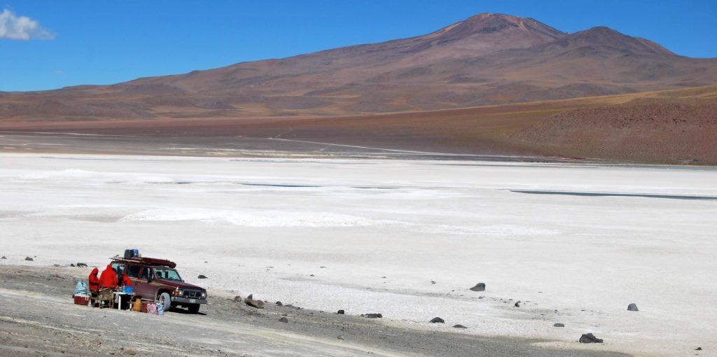 Laguna Hedionda, Province du nord Lipez, Bolivie