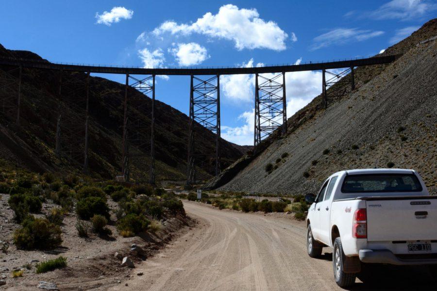 Viaduc de la Polvorella, Province de Salta, Argentine