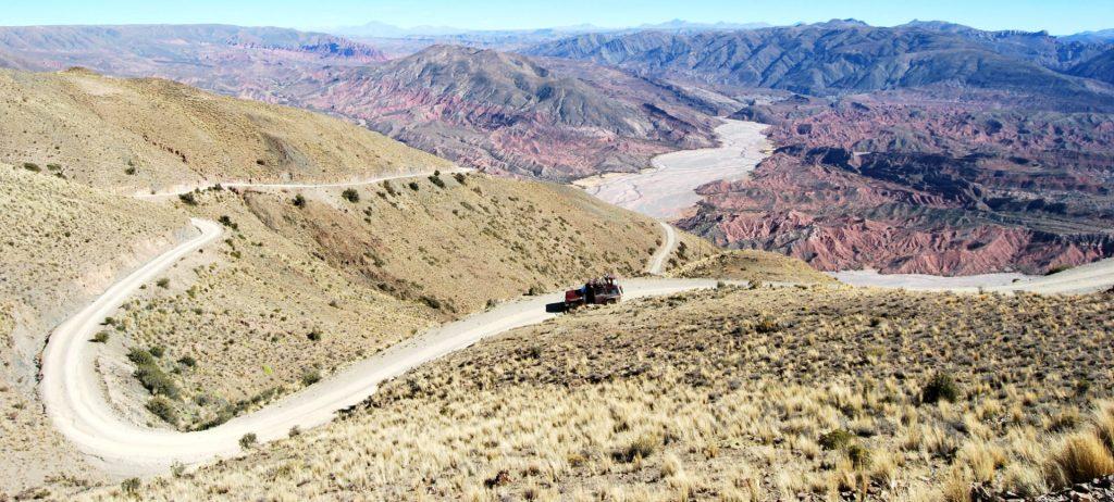 Rio San Juande Oro, Province du sud Lipez, Bolivie