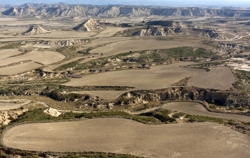 Desert des Bardenas Reales, Province de Navarre, Espagne
