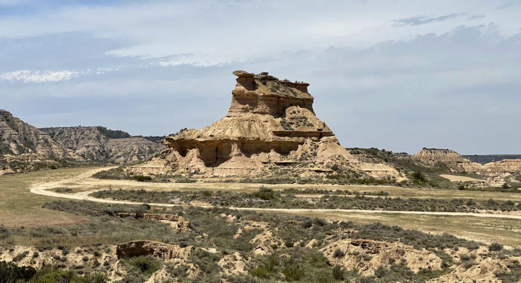 Tozal del Colasico, Désert de Monegros, Aragon, Espagne